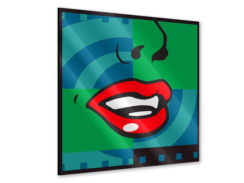 Acrylic Print The Mouth
