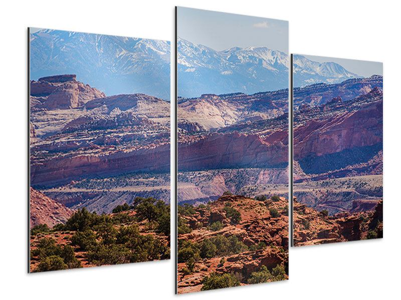 Modern 3 Piece Aluminium Print Bruce Canyon National Park