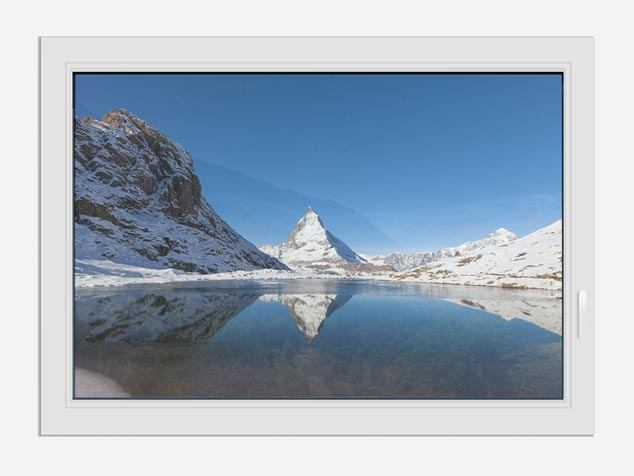 Window Print The Riffelsee On Matterhorn