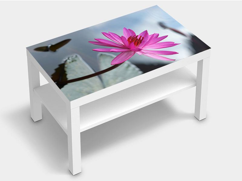 Furniture Foil Big Lotus In Pink