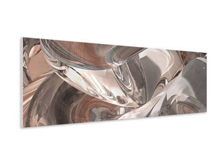 Panoramic Forex Print Abstract Glass Tiles