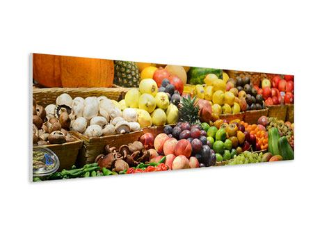 Panoramic Forex Print Fruit Market