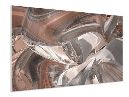 Forex Print Abstract Glass Tiles