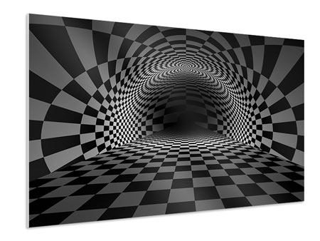 Forex Print Abstract Chessboard