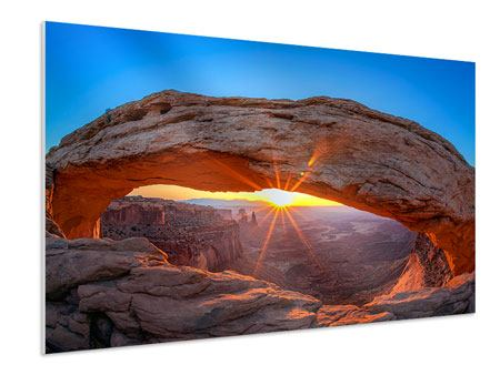 Forex Print Sunset At Mesa Arch