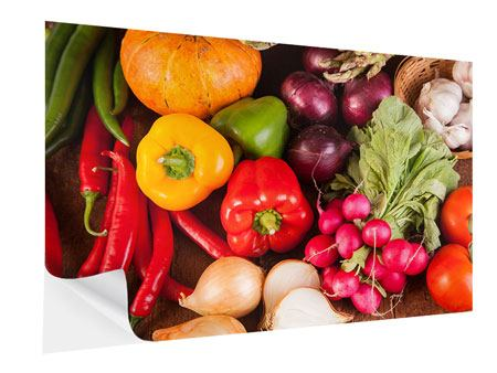 Self-Adhesive Poster Healthy Vegetables