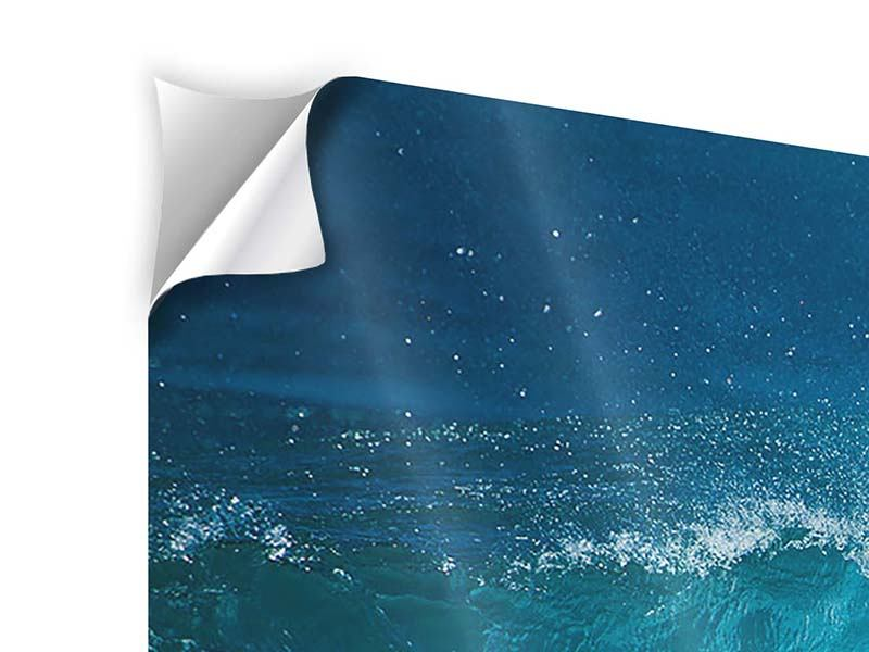 5 Piece Self-Adhesive Poster The Perfect Wave