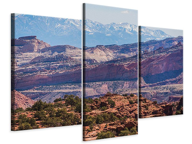 Modern 3 Piece Canvas Print Bruce Canyon National Park