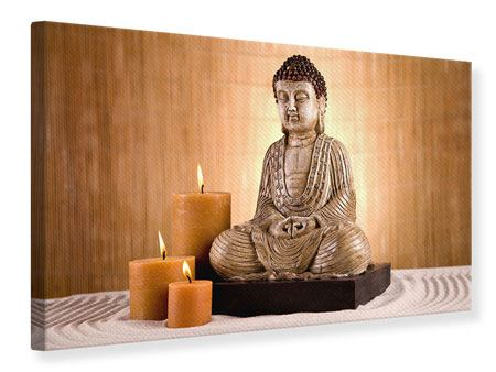 Canvas Print Buddha In Meditation