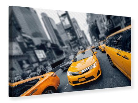Canvas Print Taxi In NYC