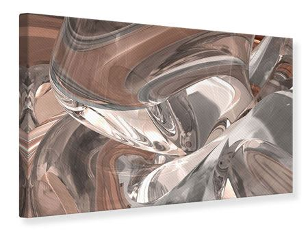 Canvas Print Abstract Glass Tiles