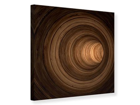 Canvas Print Abstract Tunnel