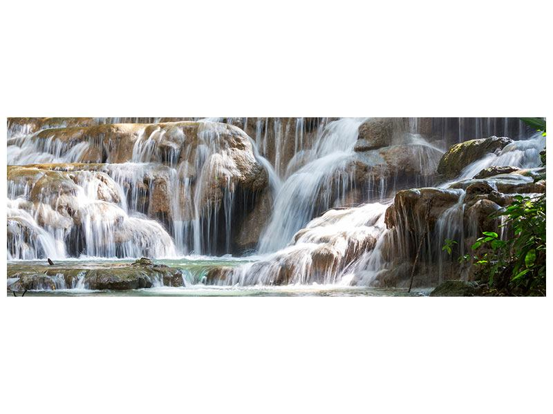 Poster Panoramica Cascate messicane