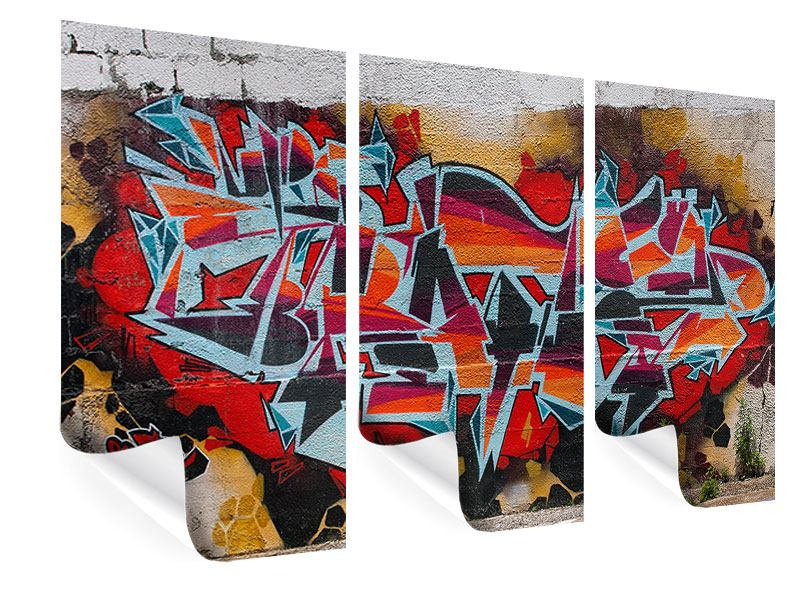 3 Piece Poster New York Graffiti