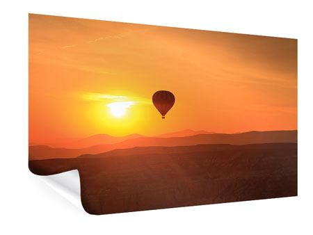 Poster Hot Air Balloon At Sunset
