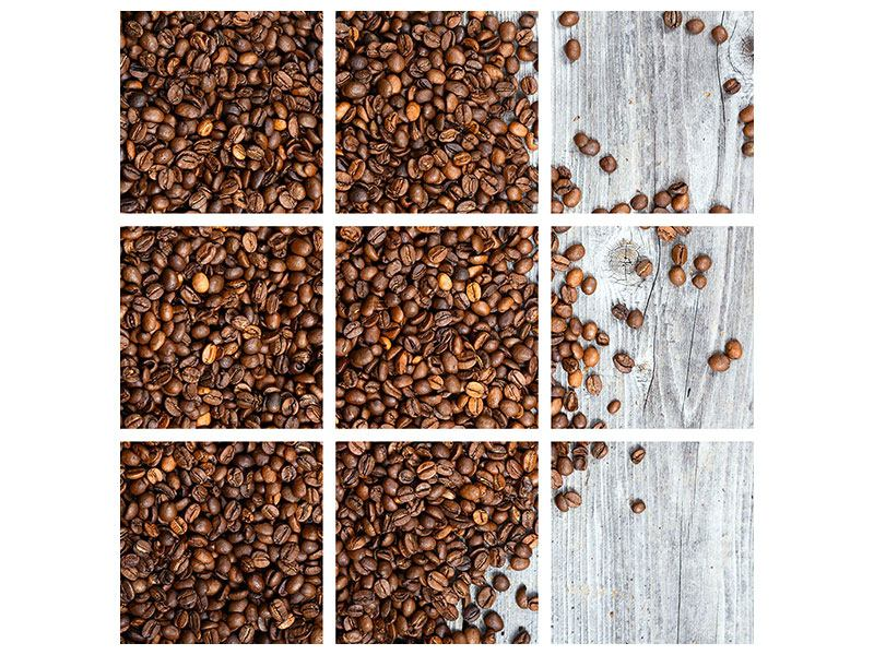 9 Piece Poster Coffee Beans