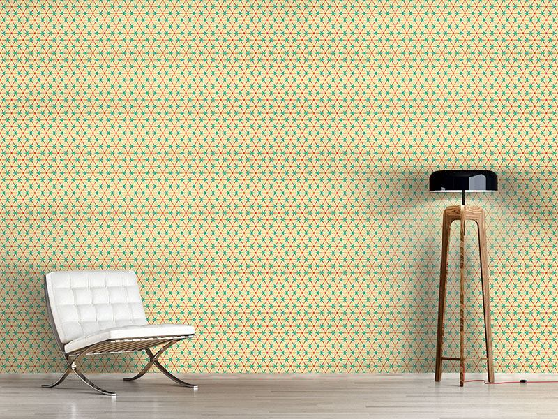 Design Wallpaper Circles And Triangles