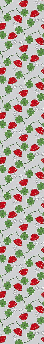 Design Wallpaper Lucky Charms In Blue