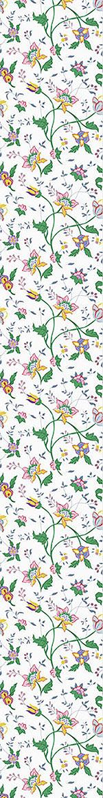 Papel tapiz de diseño Little Flower Fantasy White