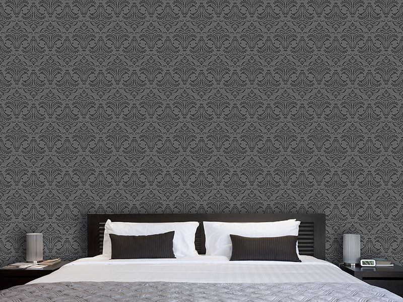 Design Wallpaper Opulence Dark Grey