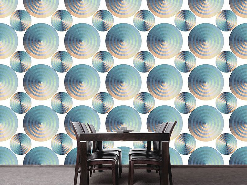 Design Wallpaper Discus Pastel