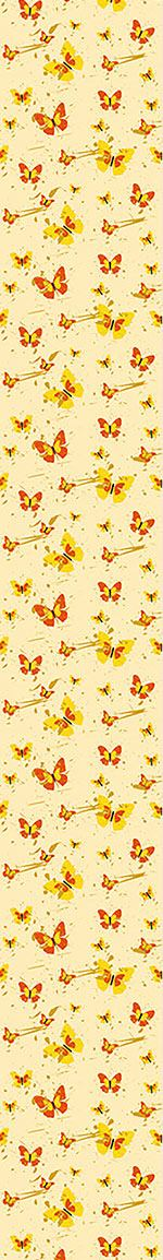 Papel tapiz de diseño Action Painting Butterfly
