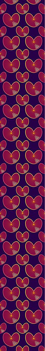 Papier peint design Echo Hearts