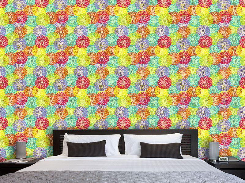 Design Wallpaper Aster Bloom