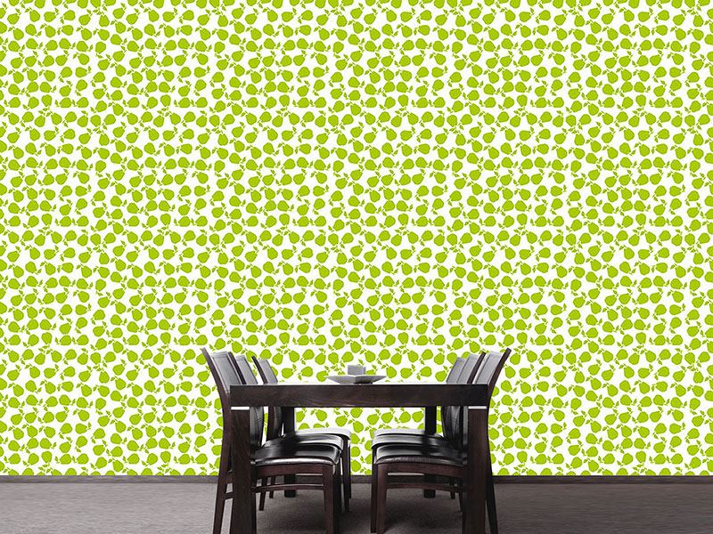 Design Wallpaper Fresh Pear
